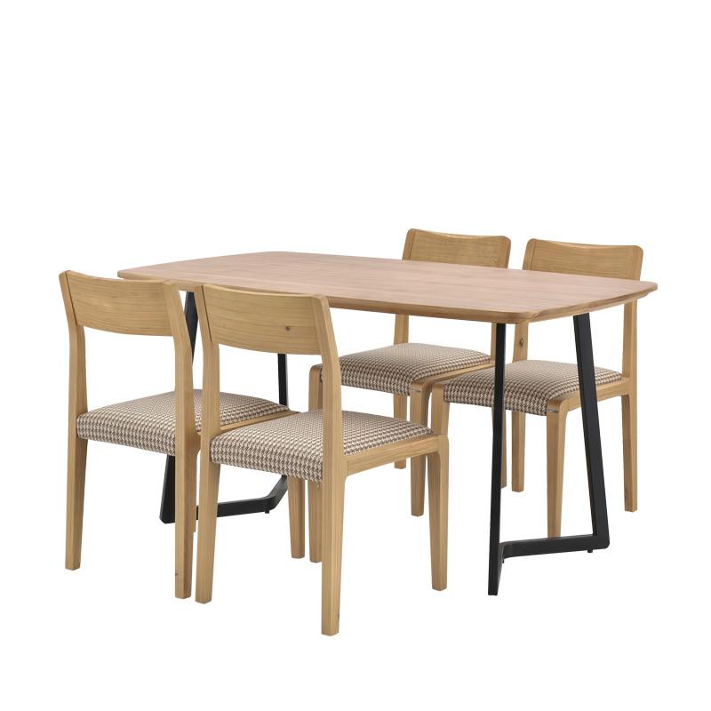 简约现代餐桌椅组合4人 F15801FA