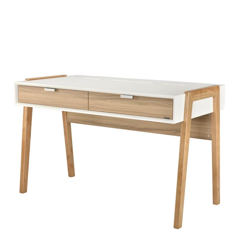 现代北欧实木书桌 家用学习桌F15801BA