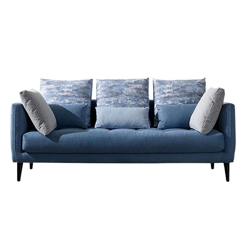布艺羽绒沙发组合