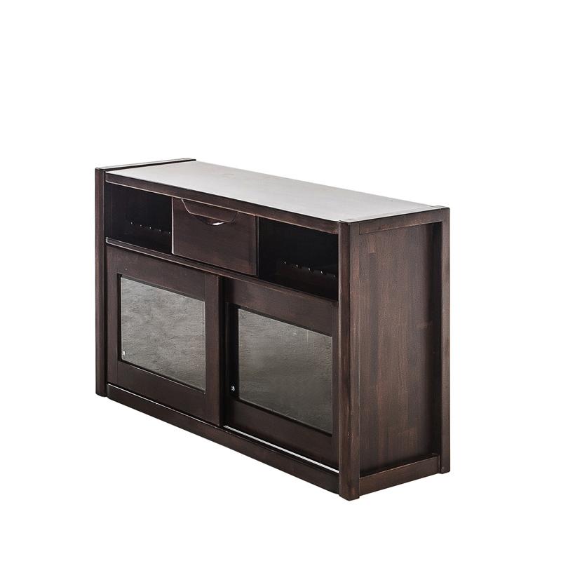 华日 中式楠木餐边柜带门储物柜N4