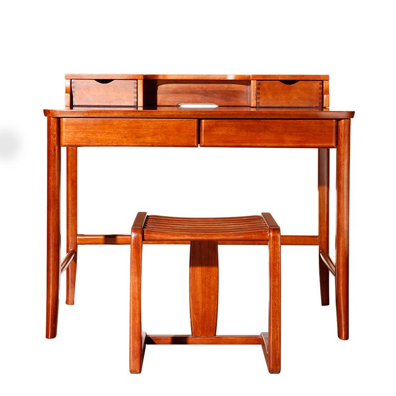 纯实木写字桌现代中式HT83J