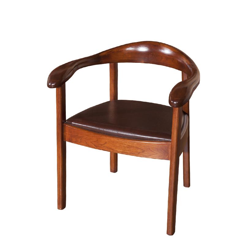 实木圈椅现代中式实木靠背椅 HT83S