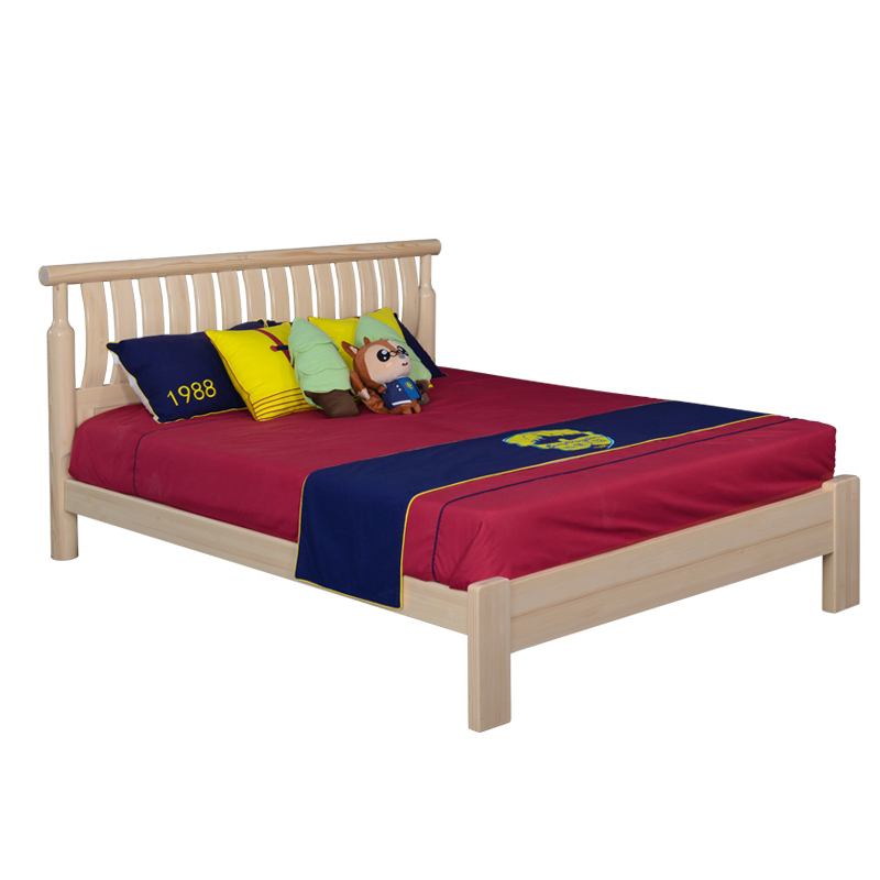 松堡王國 純松木兒童床C017S