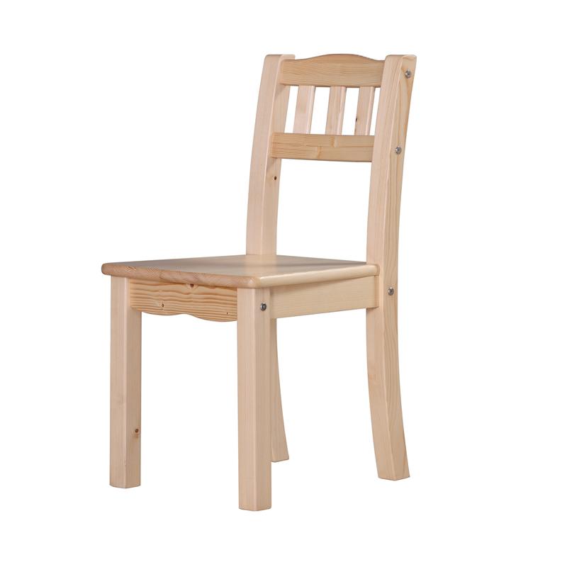 我爱我家 实木儿童椅芬兰松木