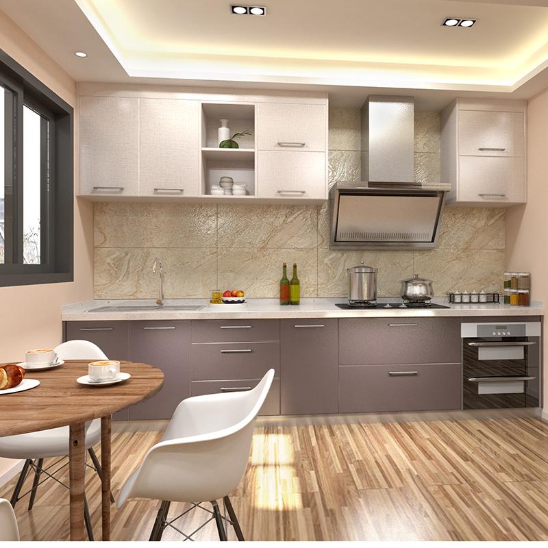 皮阿諾 整體櫥柜簡約L型廚柜QN