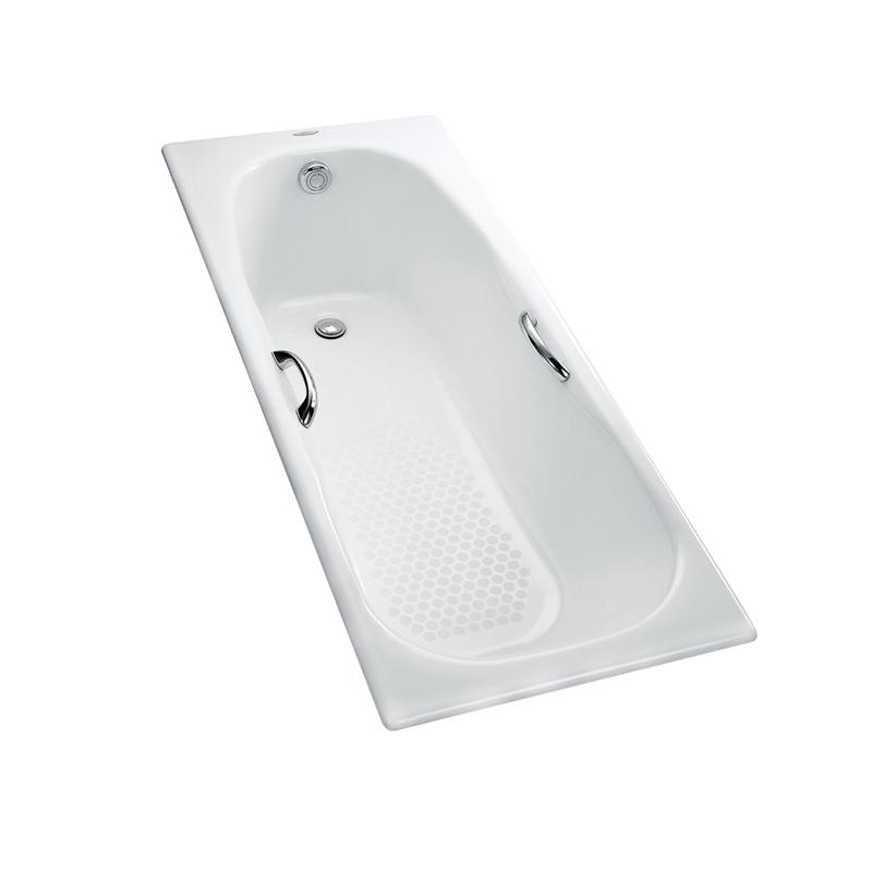 TOTO衛浴 帶扶手嵌入式鑄鐵浴缸