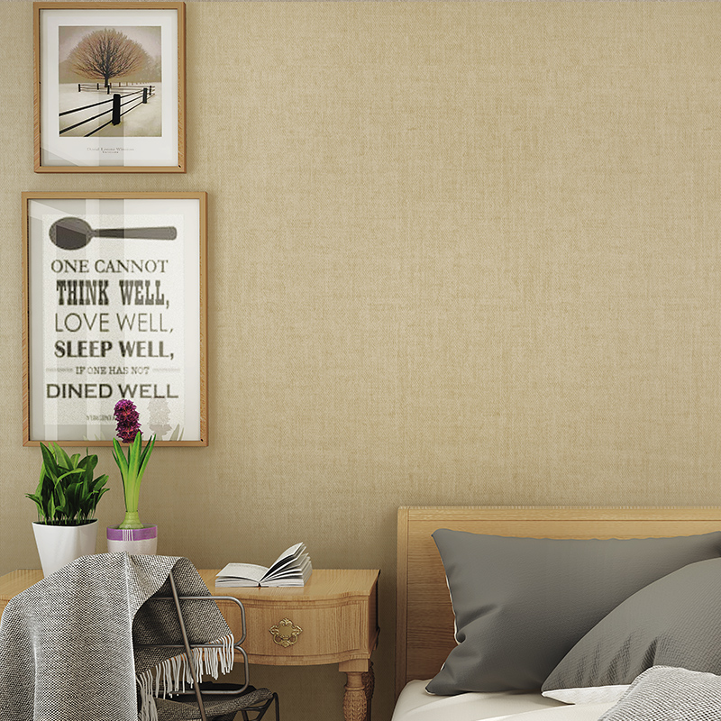 欣旺 现代简约壁纸素色