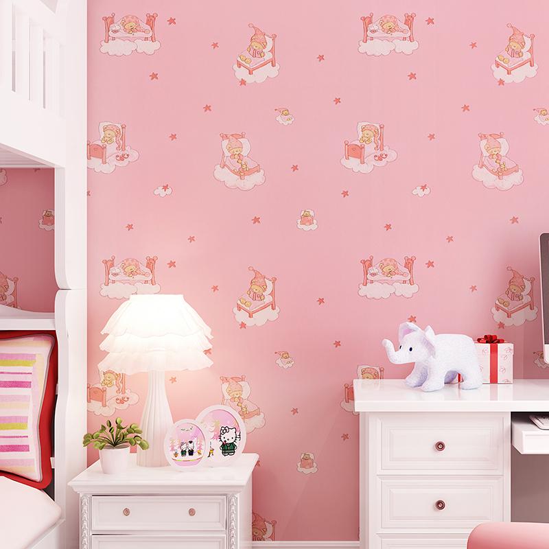 欣旺儿童墙纸 卧无纺布卡通墙纸