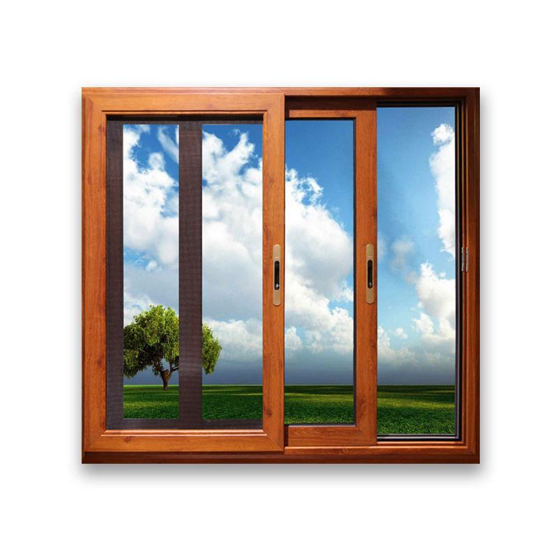 新标门窗 推拉钢化玻璃窗户T100