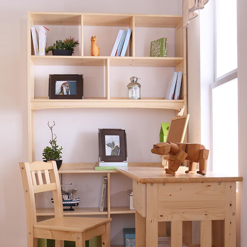 多喜愛 兒童實木書桌 轉角