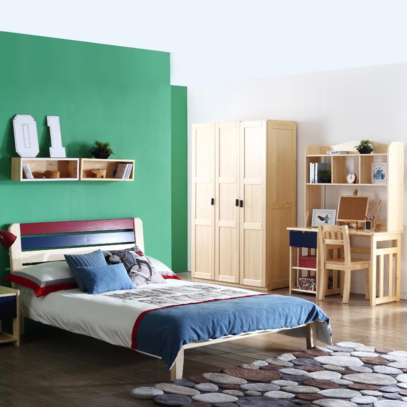 多喜爱 炫彩实木床