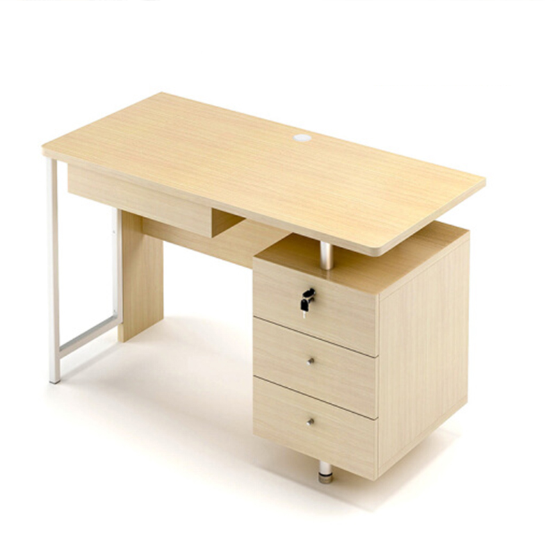 红苹果 简约电脑书桌 枫木木纹