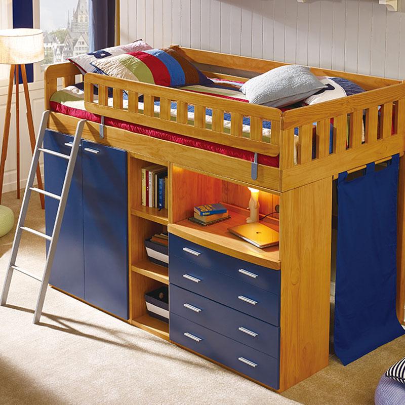 喜梦宝 儿童组合床蓝色骑士