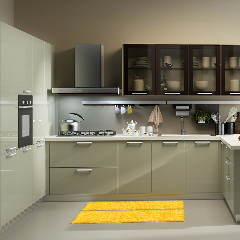 博洛尼 現代簡約整體廚房定制