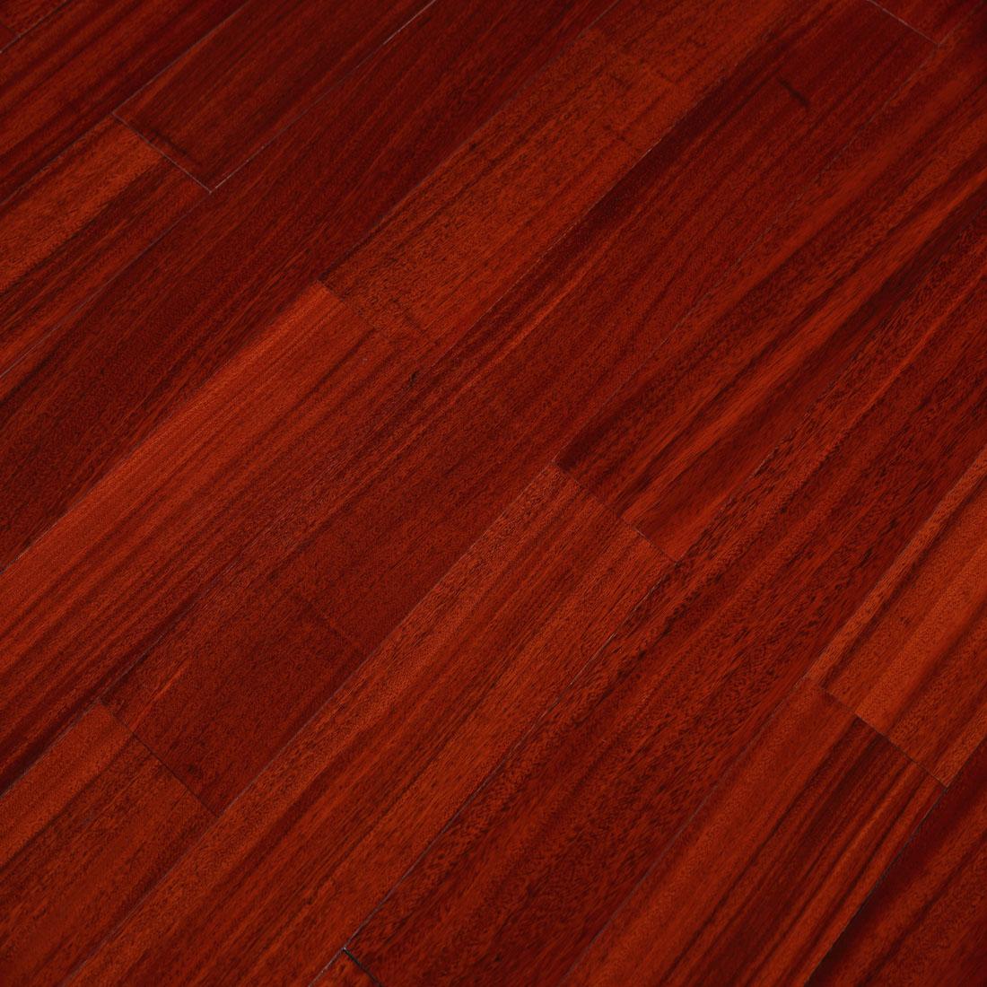 安心 家用实木地板圆盘豆