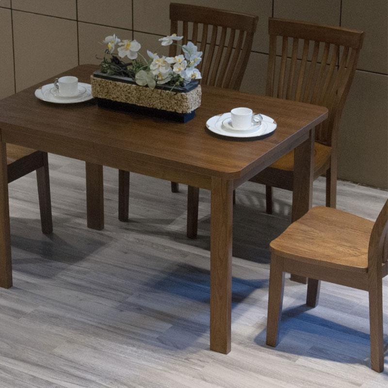 天坛 现代简约摩卡榆木餐桌