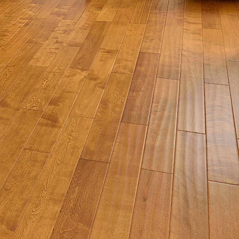 安信 俄罗斯枫桦 纯正全实木地板