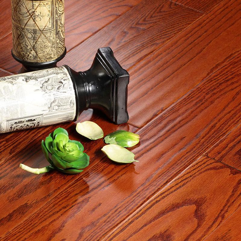 安心 实木复合地板美国红橡