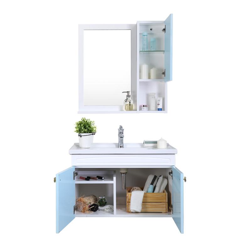 九牧卫浴 实木浴室柜组合A2182