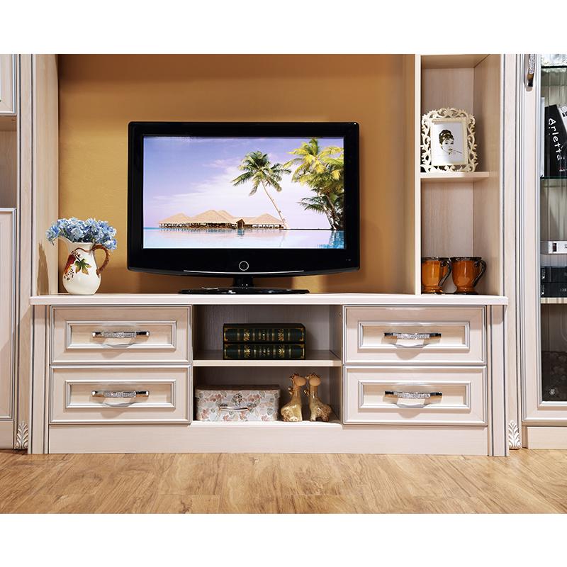 【圣卡罗】欧式客厅组合柜 电视柜壁炉柜酒柜