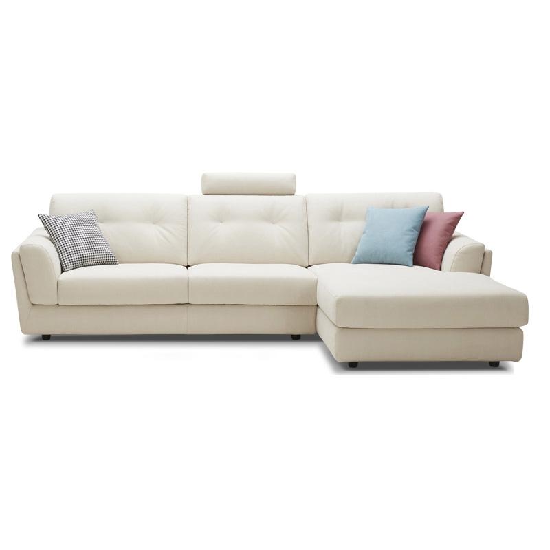 客厅转角布艺沙发