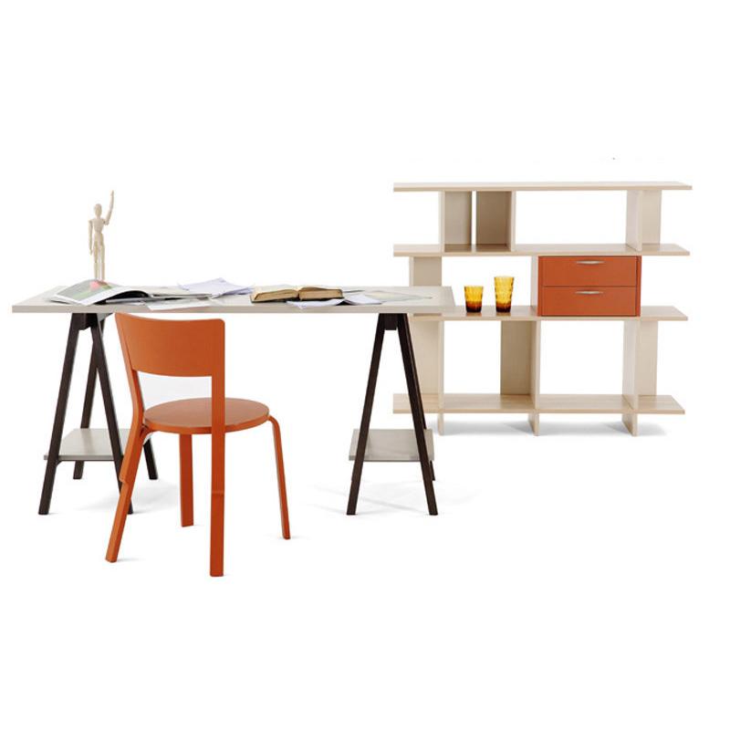曲美家居 木质办公书桌