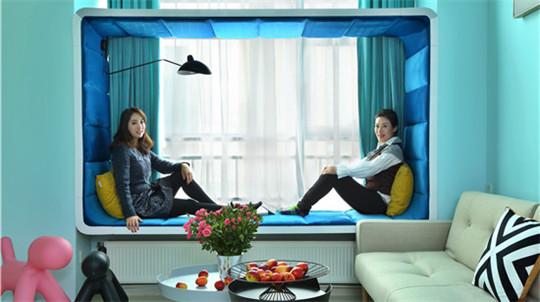 视频|奥运冠军40平loft大改造 女汉子将少女心搬进家
