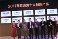 """涂乐师""""湖.春波荡漾""""荣获2017年硅藻泥十大创新工艺奖"""