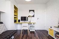 别让户型小限制了想象,书桌柜这样设计美观不占空间!