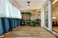 阳台还可以这样贴瓷砖,超级好看,小户型也可以做!