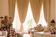 不同颜色的窗帘 缔造不一样的情调