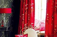 给窗帘换装 迎来新春的喜庆