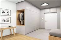门厅装个封闭式衣柜,简直太有必要了!