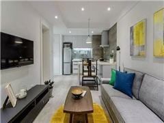 55平的新中式单身公寓,带来不一样品味