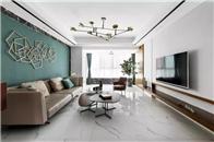 大氣的拋光磚和質樸的啞光磚,你家客廳是怎么鋪的!