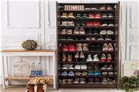 超牛的鞋柜收纳神器,让你家鞋柜空间扩容一倍!