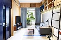 色彩控必看!用蓝色传递家间的优雅气息