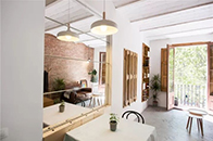 原木钱柜娱乐777打造贴近自然的25㎡单身公寓