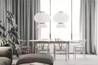 白色极简融入自然木色,呈现高级感舒适美家