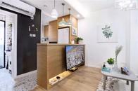 60平米北欧风小户型住宅,极致利用空间的典范