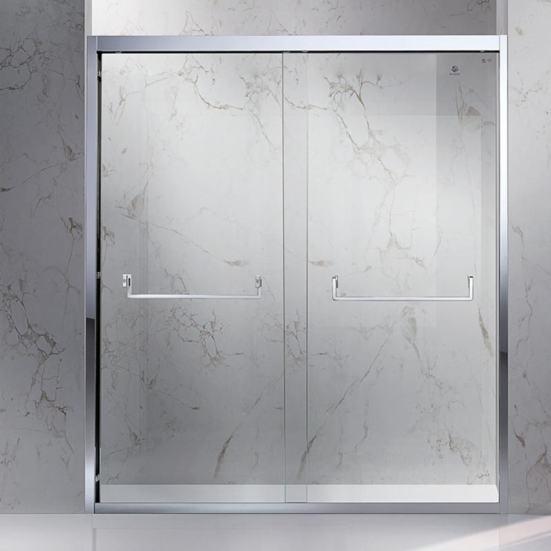 玫瑰島淋浴房 PPG超寬不銹鋼雙移門(納斯達克發布)