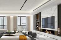 如何让客厅整洁又时髦?柜体设计是不容忽视的一环!