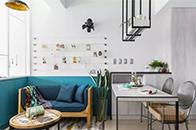 40m²单身公寓改造成轻松自在的工业风