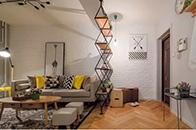 北欧风格90㎡房子装修