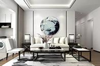 新中式给予你一片宁静的家!