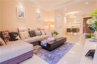85平小居室简约而又温馨的家