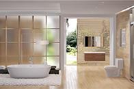 卫浴间墙面清洁与保养