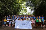 快讯   创基金儿童自然美学课程志愿者山地工作营顺利结营
