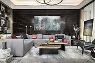 乐尚设计丨万科安品园舍别墅设计:现代风尚,文雅和畅
