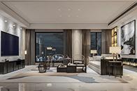 """""""我是設計師""""作品丨質感新中式 調和典雅精致的輕奢別墅"""